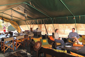 Luxurious Mara Porini Camp within the Ol Kinyei Conservancy