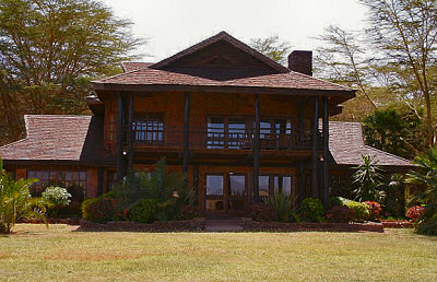The Kibo Villa at the Ol Tukai Lodge in Amboseli