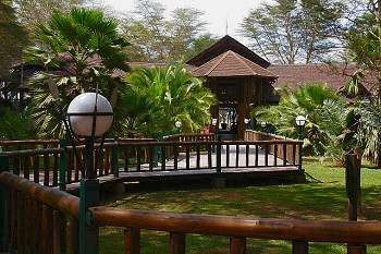 The Ol Tukai Lodge in Amboseli National Park