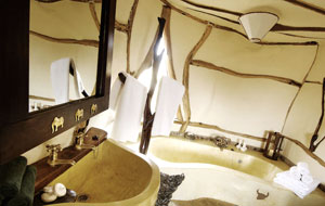 Your bathroom at Satao Elerai Camp