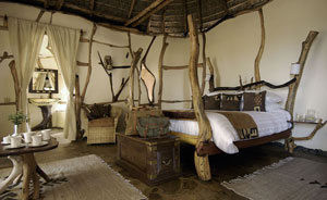 Bedroom at Satao Elerai Camp