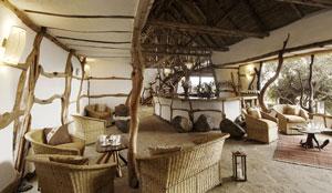 Lounge at Satao Elerai Camp