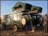 Roof Tent Camping offered by Sunworld Safaris