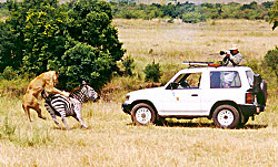 Unique Experience during Safari with Sunworld-Safaris