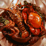 The Tamarind Sea Food Restaurant in Mombasa offers a great variety of fresh Lobster dishes